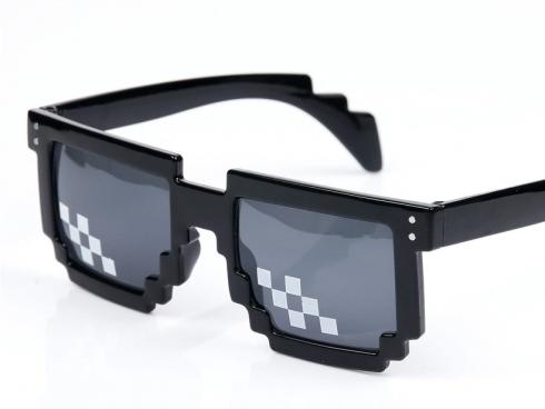 Mr Cool 8 Bits Mosaic Pixel Sunglasses