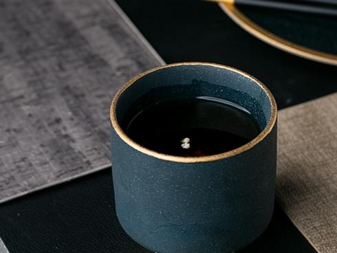 European Style Marble Ceramic Tea Cup 250ml