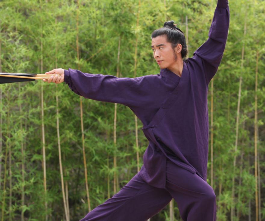 High Quality Linen Wudang Taoist Martial Arts Uniform 4
