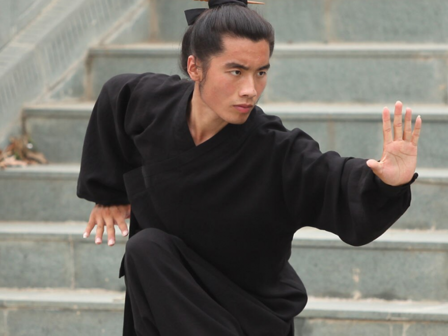 High Quality Linen Wudang Taoist Martial Arts Uniform 3