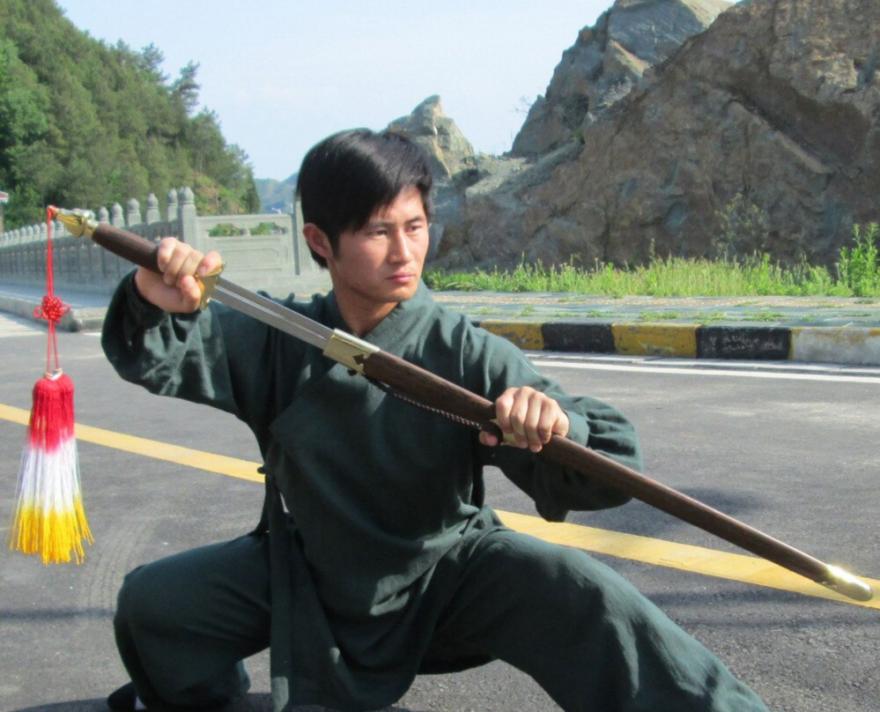 High Quality Linen Wudang Taoist Martial Arts Uniform 6